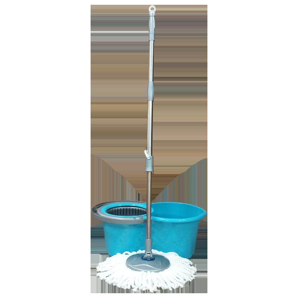 Набор для уборки Planet Spin Mop Mini 14 л голубой