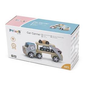 Деревянная игрушечная машинка Viga Toys PolarB Автовоз (44014)