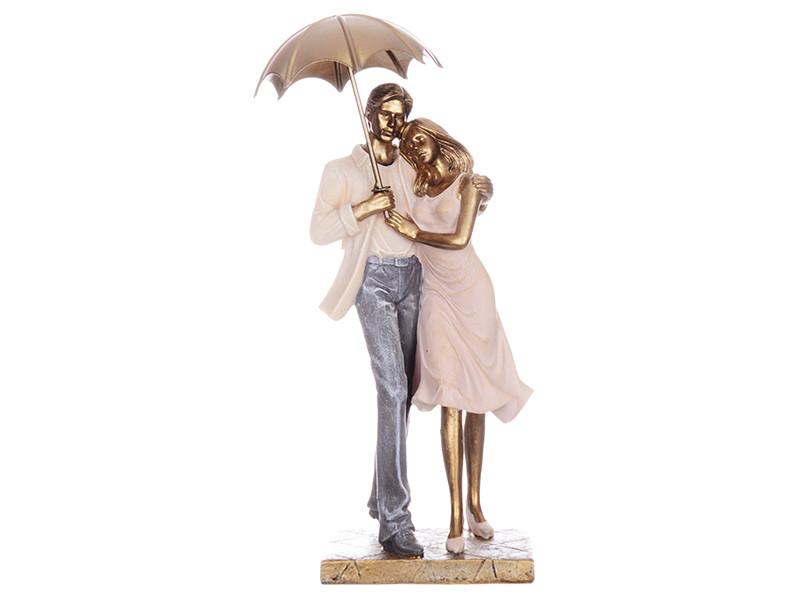 Статуэтка Lefard Пара под зонтом 28 см 192-039