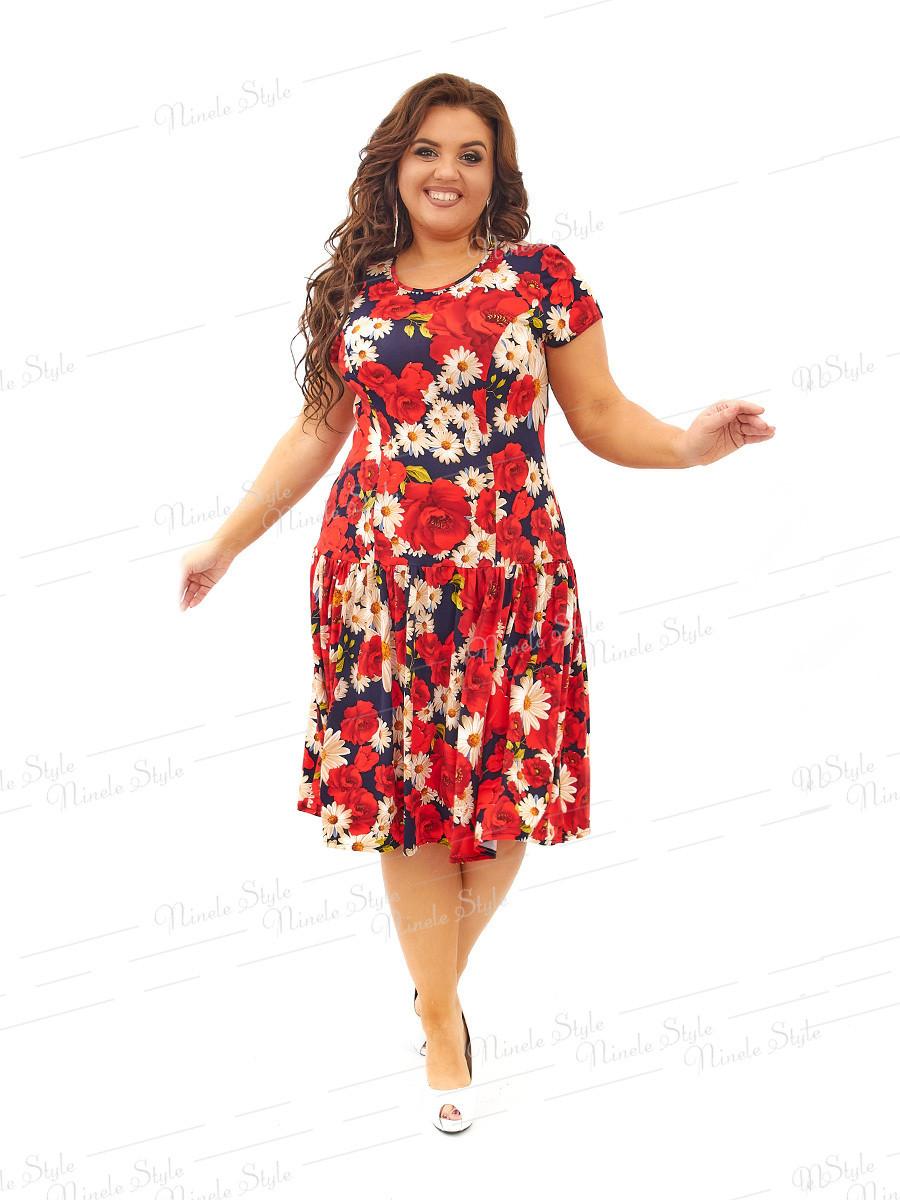 Повседневное платье 436-8 54