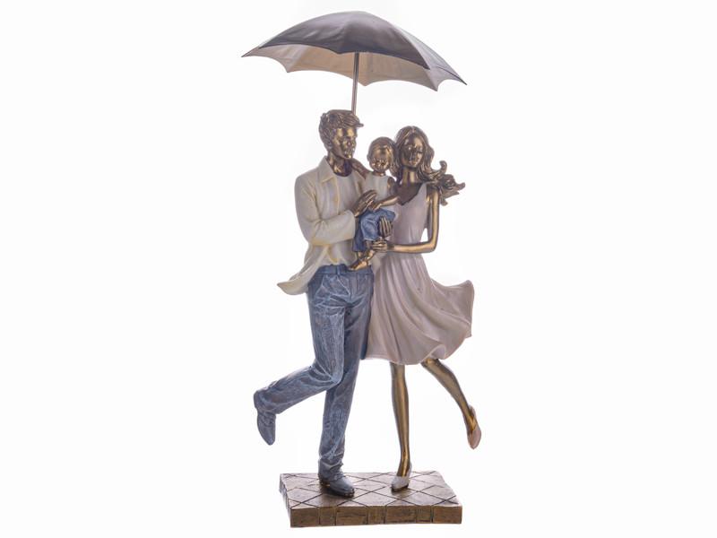 Статуэтка Lefard Семья под зонтом 31 см 192-063