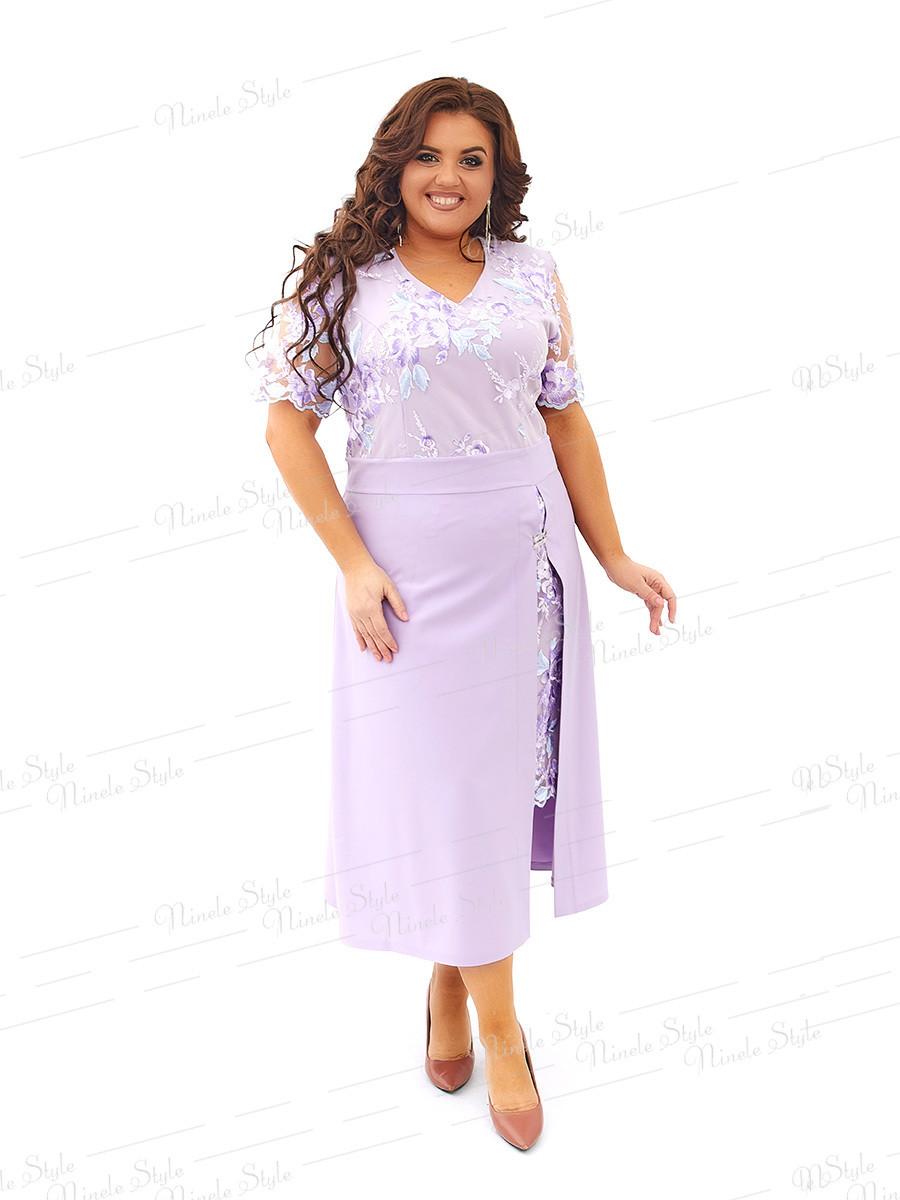 Нарядное платье 442-3 54