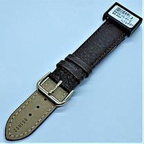 20 мм Кожаный Ремешок для часов CONDOR 051.20.02 Коричневый Ремешок на часы из Натуральной кожи, фото 3