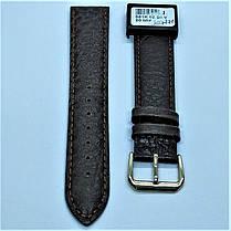 20 мм Кожаный Ремешок для часов CONDOR 051.20.02 Коричневый Ремешок на часы из Натуральной кожи, фото 2