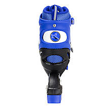 Роликовые коньки Nils Extreme NJ1828A Size 35-38 Blue, фото 3