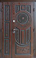 Двері вхідні, полімерна плита, 1200x2050, зовнішні, праві, №2200276