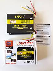Преобразователь Инвертор с 24В на 12В (50А) ВидеоОбзор, фото 2
