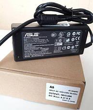 Блок Питания ASUS Зарядка 19v 3.42a 65W штекер 5.5 на 2.5 (ОРИГИНАЛ), фото 2