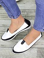 Туфли мокасины кожаные 7330-28