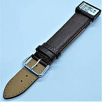 22 мм Кожаный Ремешок для часов CONDOR 051L.22.02 Коричневый Ремешок на часы из Натуральной кожи удлиненный, фото 3