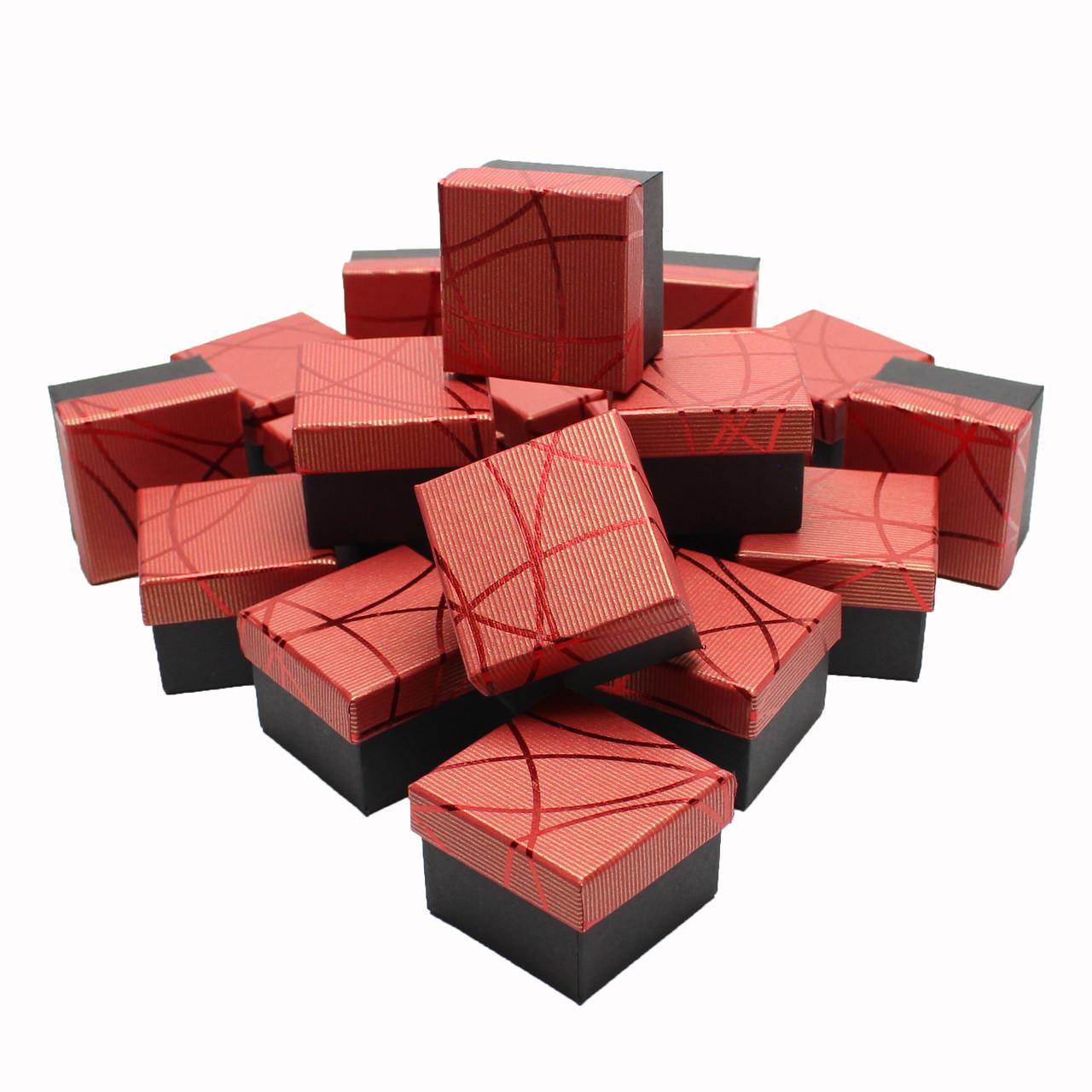 Подарочные коробки оптом №18 Красный