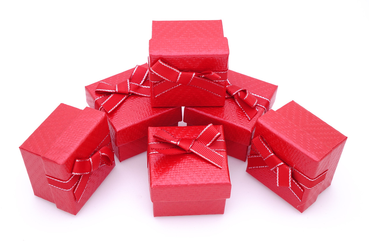 Подарочные коробки оптом №34 Красный
