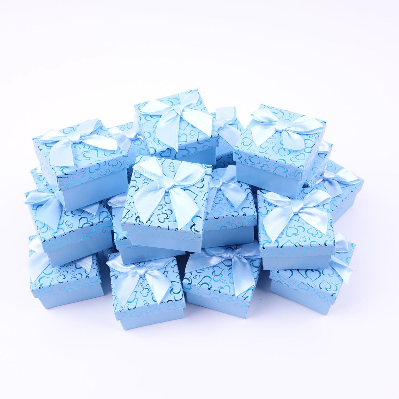 Подарочные коробки оптом №39 Голубой