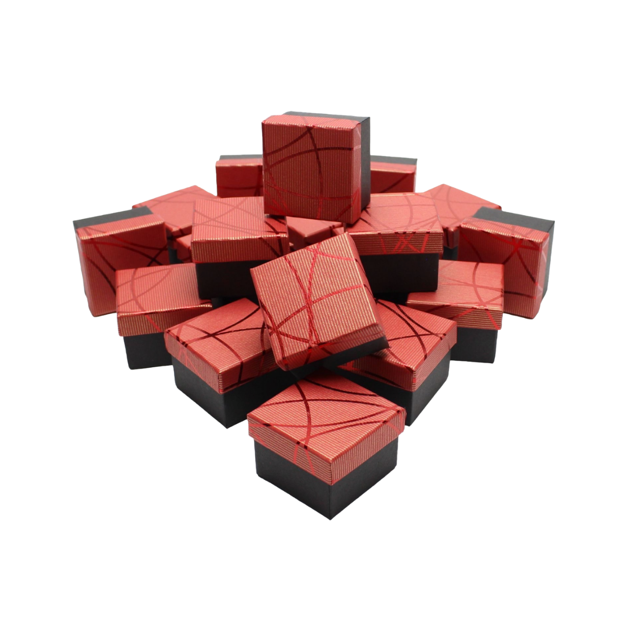 Подарочные коробки оптом №43 Красный