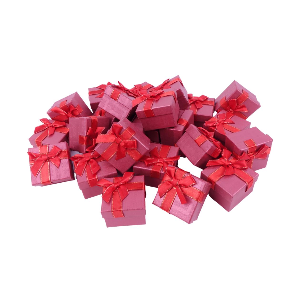 Подарочные коробки оптом №48 Красный