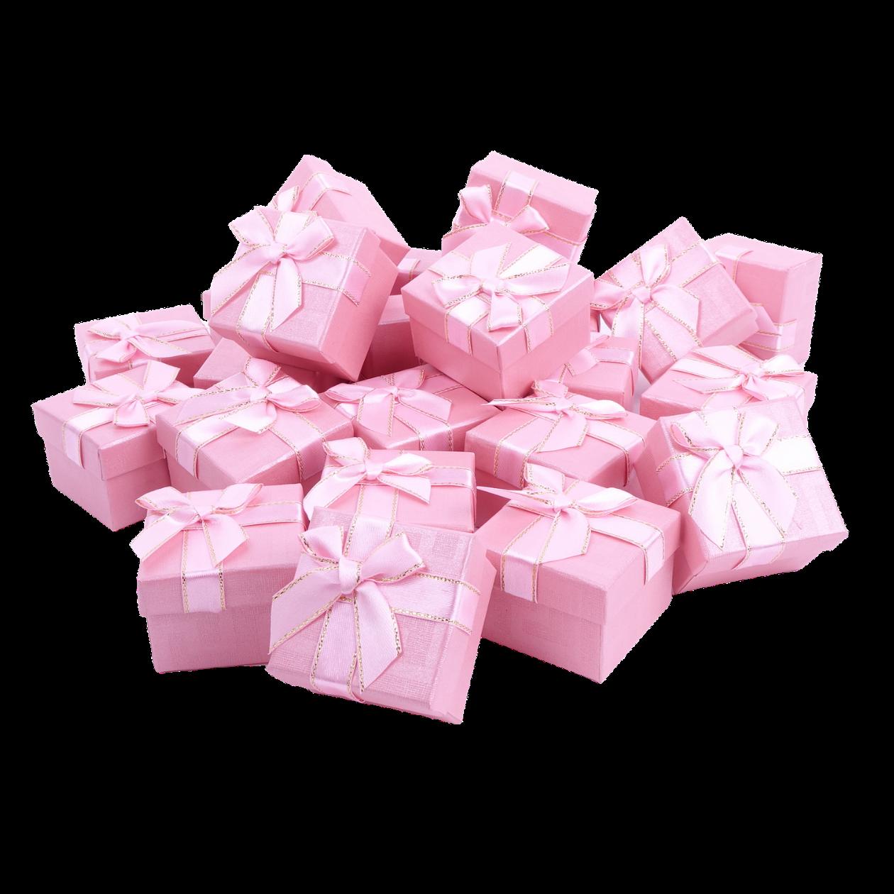 Подарочные коробки оптом №51 Розовый