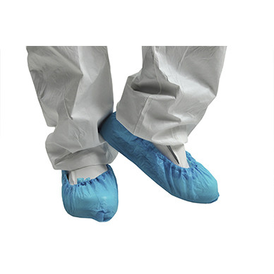 Бахилы полиэтиленовые Medicom голубые, 100 шт/1 уп