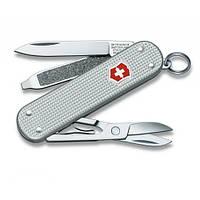 Швейцарский нож Victorinox Alox Classic 58 мм Серебристый