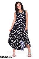 Красивое легкое летнее платье   размер 56-58 недорого