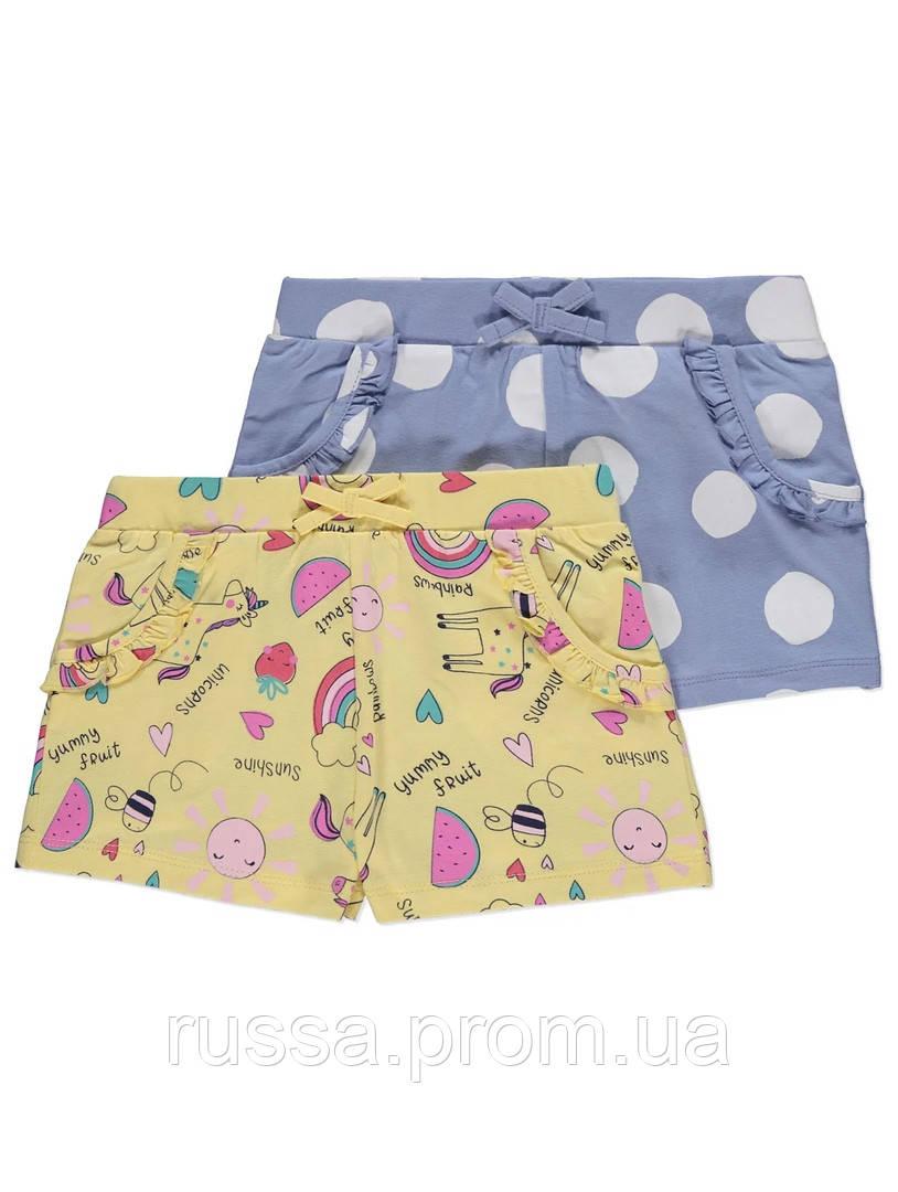 Летние детские шортики для девочки Джордж (поштучно)