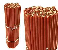 Свечи восковые красные, номерные (№30) (1 кг.)