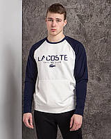 """Батник спортивный мужской """"Lacoste"""" размеры норма 46-52, цвет уточняйте при заказе"""