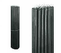 Свечи восковые черные, номерные (№10) (1 кг.)