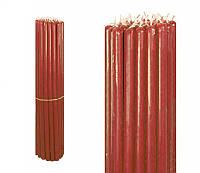 Свечи восковые красные, номерные (№10) (1 кг.)