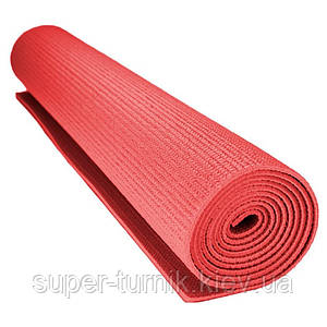 Килимок для йоги та фітнесу Power System PS-4014 FITNESS-YOGA MAT Orange