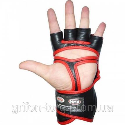 Перчатки для ММА Power System 007 Faito M Red, фото 2