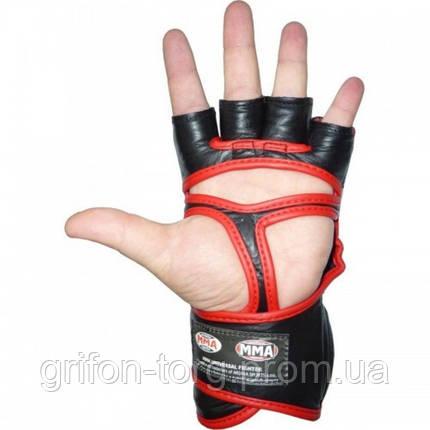 Перчатки для ММА Power System 007 Faito L Red, фото 2