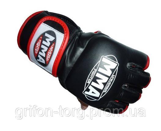 Перчатки для ММА Power System 006 Katame L Red, фото 2