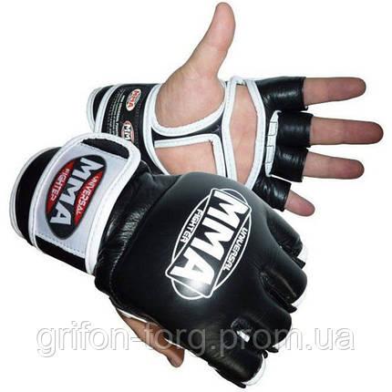Перчатки для ММА Power System 006 Katame L White, фото 2