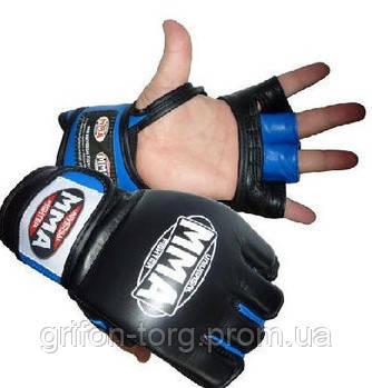 Перчатки для ММА Power System 006 Katame L Blue, фото 2