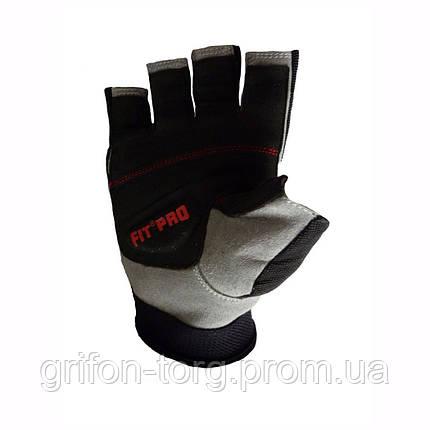 Перчатки для тяжелой атлетики Power System X1 Pro FP-01 XL Black, фото 2
