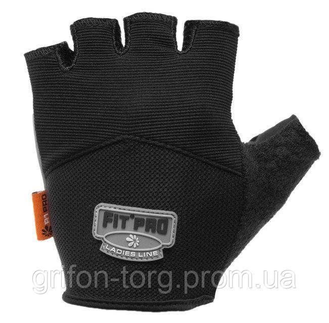 Перчатки для тяжелой атлетики Power System FP-06 L Black
