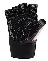 Перчатки для тяжелой атлетики Power System Raw Power PS-2850 S Black/White, фото 2