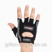 Перчатки для фитнеса и тяжелой атлетики Power System Workout PS-2200 Black XXL, фото 2