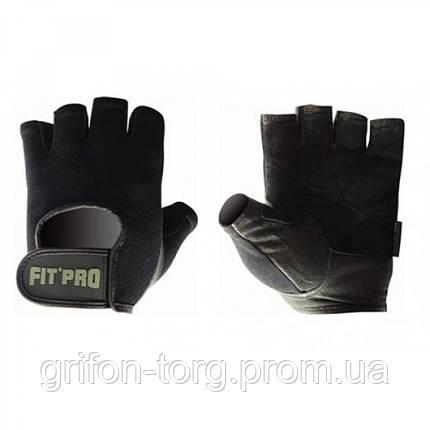 Перчатки для фитнеса и тяжелой атлетики Power System FP-07 B1 Pro XL Black, фото 2