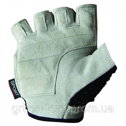 Перчатки для фитнеса и тяжелой атлетики Power System Basic PS-2100 XL Blue, фото 2