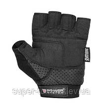 Перчатки для фитнеса и тяжелой атлетики Power System Power Plus PS-2500 L Black/Red, фото 2