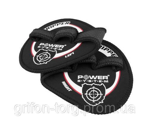 Накладки на ладони Power System Gripper Pads PS-4035 XL Black, фото 2