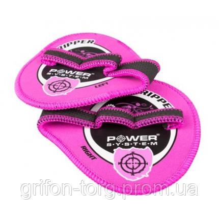 Накладки на ладони Power System Gripper Pads PS-4035 L Pink, фото 2
