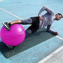 Мяч для фитнеса и гимнастики POWER SYSTEM PS-4018 85 cm Pink, фото 2