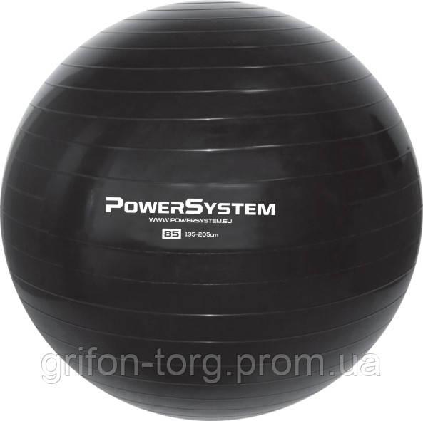 Мяч для фитнеса и гимнастики POWER SYSTEM PS-4018 85 cm Black