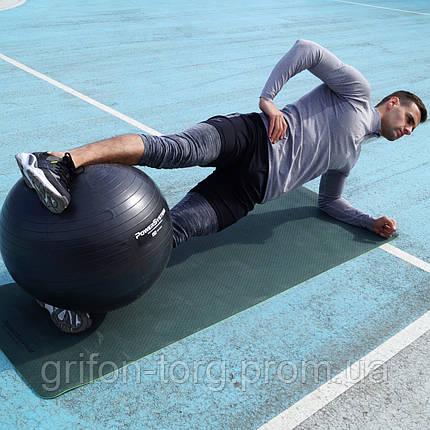 Мяч для фитнеса и гимнастики POWER SYSTEM PS-4018 85 cm Black, фото 2