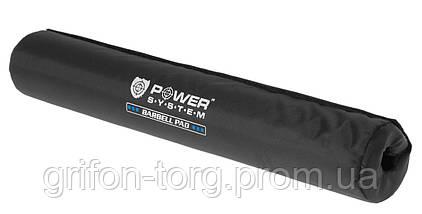 Смягчающая накладка на гриф Power System Bar Pad PS-4036 Black (d7), фото 2