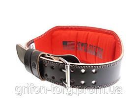 Пояс для тяжелой атлетики Power System Elite PS-3030 L Black/Red, фото 3