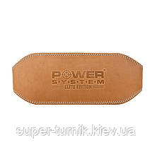 Пояс для тяжелой атлетики Power System Elite PS-3030 L Natural, фото 2
