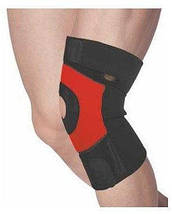 Наколенник Power System Neo Knee Support PS-6012 M Black/Red, фото 2